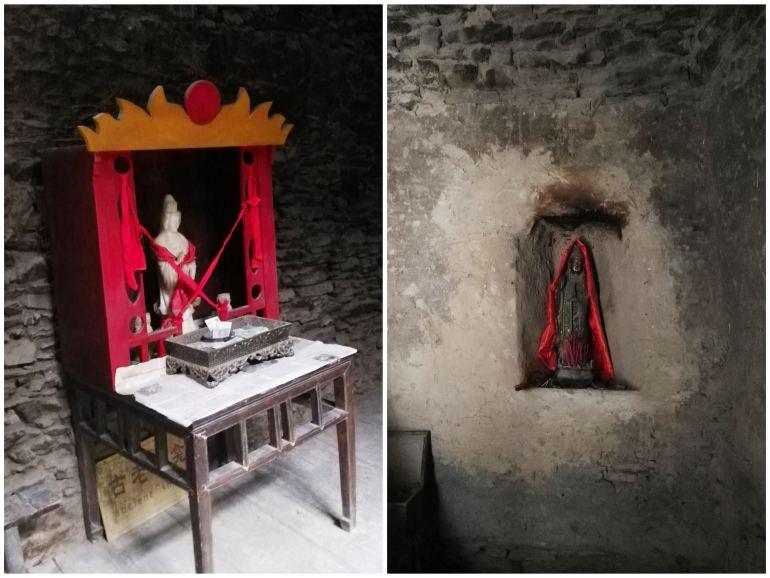 סיור בתוך הבתים של טאופינג. מקדשים משפחתיים (צילום: שני אפלבאום)