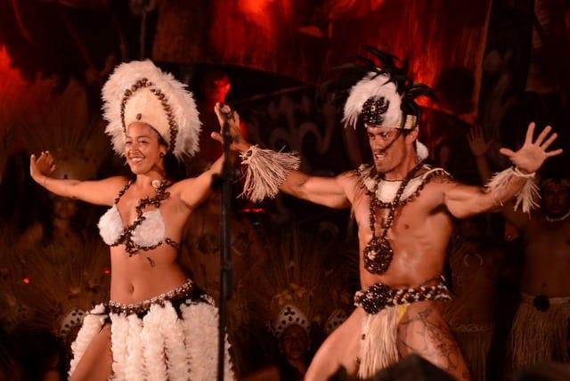 Danseurs traditionnels lors du Tapati festival Ile de Paques