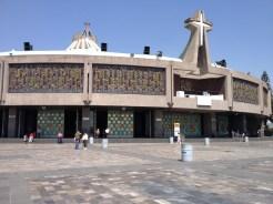 The new Basilica de Nuestra Senora de Guadalupe