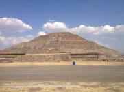 Teotihuacan's Piramide del Sol