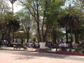San Cristóbal's main square, Plaza 31 de Marzo