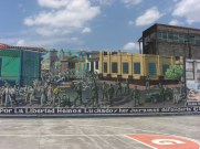 Revolutionary murals in Leon