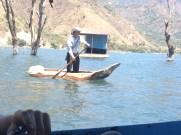 Crossing Lake Atitlan
