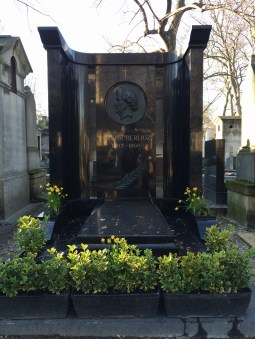 Tomb of composer Hector Berlioz