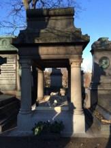 Resting place of Alexandre Dumas