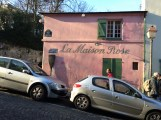 Le Maison Rose, subject of a Utrillo painting