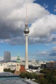 The TV Tower from the top of Berlin Cathedral