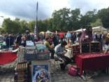 Mauerpark Sunay market