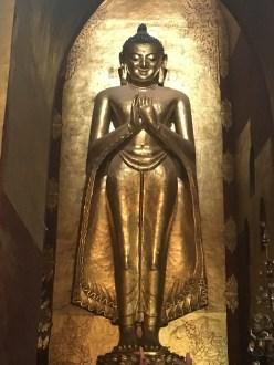 One of the original Buddhas at Ananda Pahto