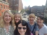 Selfie at the Highline's 10th Street amphitheatre