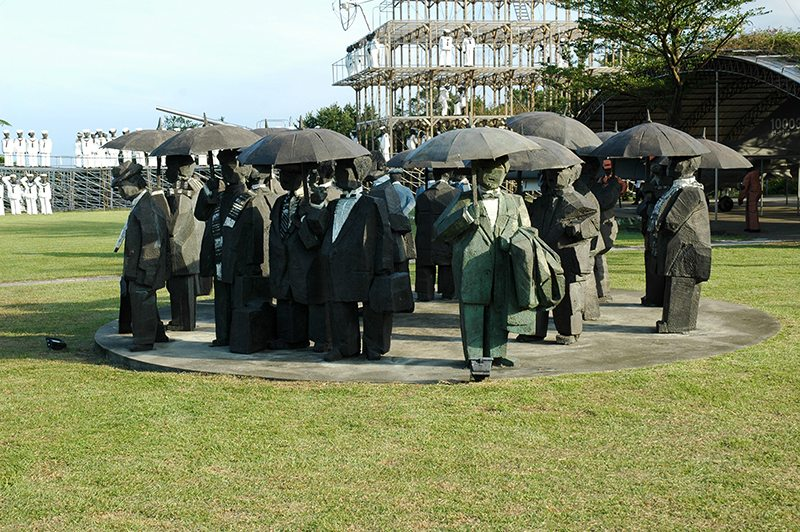 06_朱銘美術館以公園形式展示大師作品