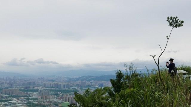 02-從青龍嶺俯瞰大台北地區