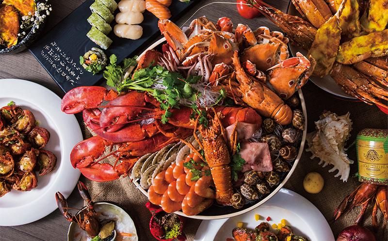 凱達大飯店「百宴自助餐」推海鮮之夜!大啖海鮮超海派!