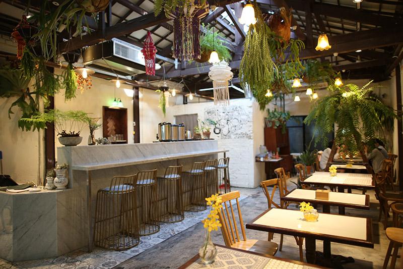 在雨林中享用東南亞料理,超愜意der