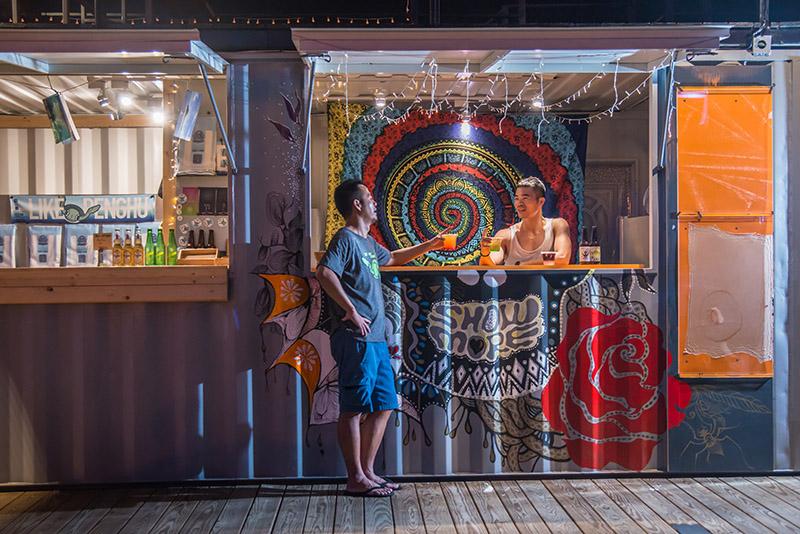 澎湖的美食聚落,海島上的啤酒風味就是不一樣