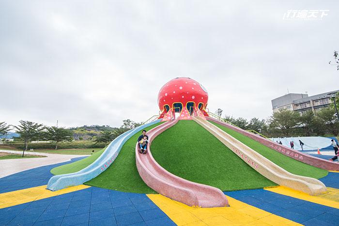 遛小孩的好去處,這裡絕對可以是全台10大好玩的特色公園