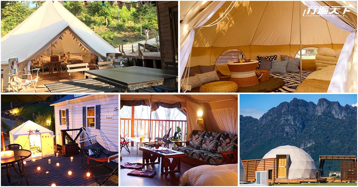 出國旅行也可以很「野外」,日本關東5大人氣露營旅宿等你體驗