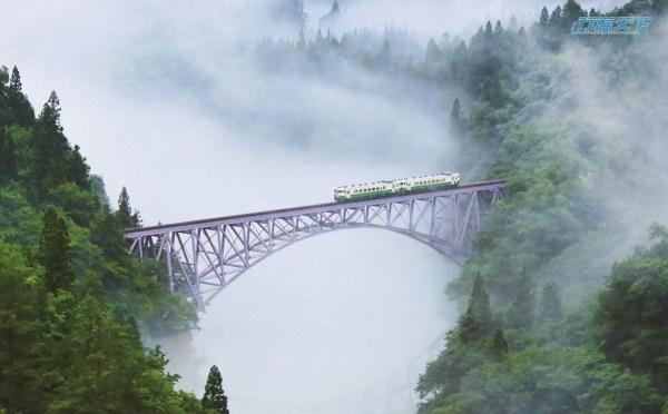 日本,福島,只見線,南東北