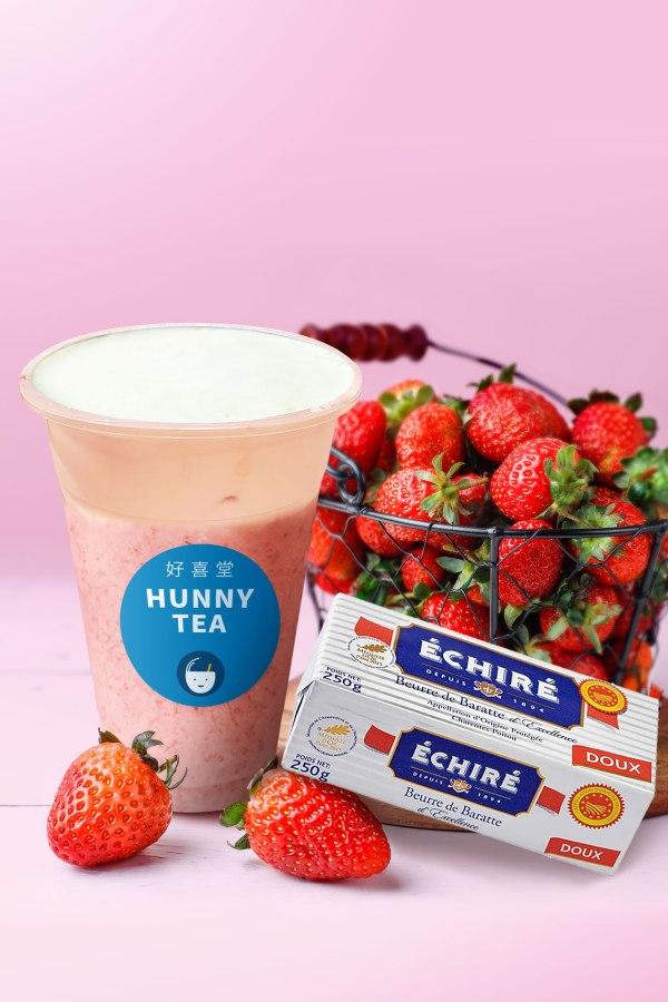 明天還要上班?用加入10顆草莓的法式厚奶蓋來撫慰自己一下