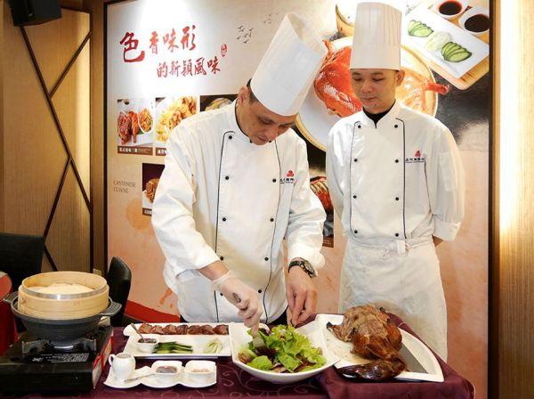 晶悅軒粵菜料理 金牌烤鴨大展創意