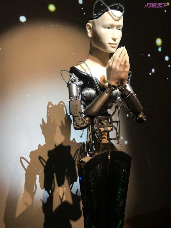 世界第一說佛語機器人觀音,就在京都這間寺院
