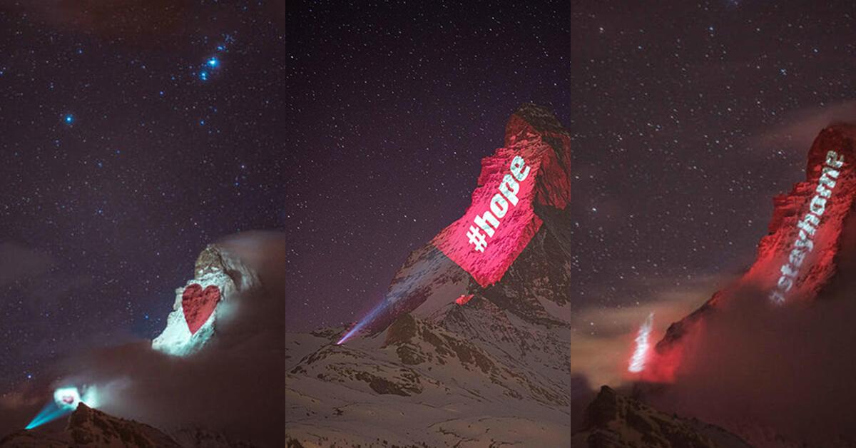【瑞士.癒】寫在山王馬特洪峰上面的感恩 為全球打氣