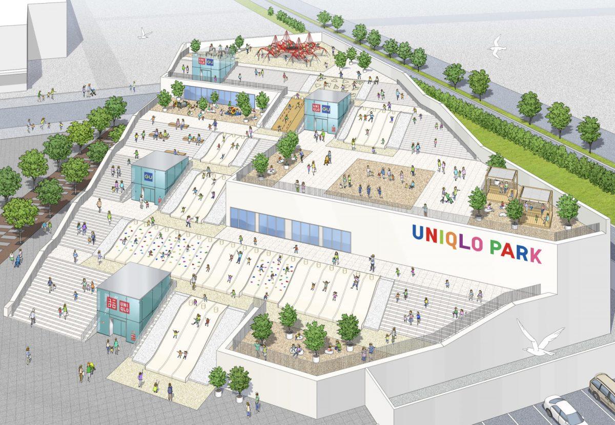 【東京.玩】在UNIQLO溜滑梯日子來了  創新店開幕立馬收口袋
