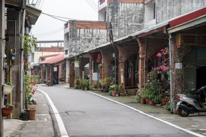 新竹,關西鎮,石店子文創老街,沒有牆的美術館