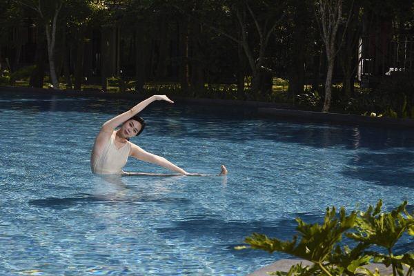 虹夕諾雅,谷關,水中瑜伽