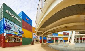 mitsui outlet park,台中港,沙鹿,貨櫃市集