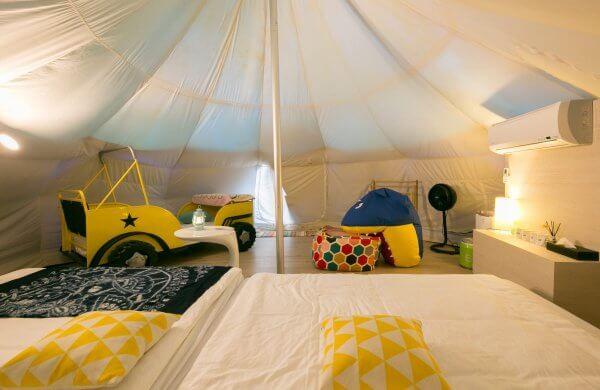 是誰住在郊外的鳳梨裡?來這裡兩手空空也能輕鬆露營 2