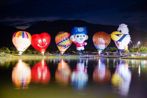 台東,熱氣球,嘉年華,光雕音樂會
