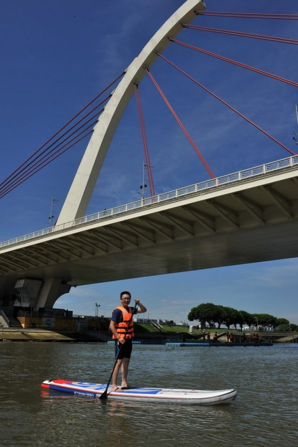 中山區,大直橋,sup,立槳,水上腳踏車,獨木舟