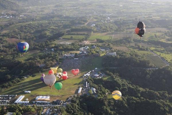 台東,熱氣球,森林公園,鐵花村