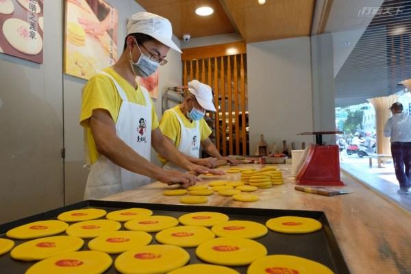 傳統糕餅,膨餅,台南