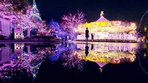 東京,日本,光雕,線上,耶誕,晴空塔,東京鐵塔,讀賣樂園