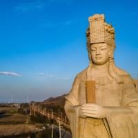 苗栗旅遊|全台最高站姿媽祖像在這 春節與家人一同朝聖