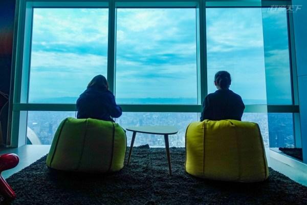 101,夜景,觀景台,台北市,秘境,親子同遊,天空翻轉教室,阻尼球