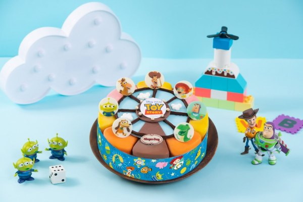 Häagen-Dazs,哈根達斯,冰淇淋蛋糕,迪士尼,米奇,米妮,胡迪,玩具總動員,小熊維尼,101忠狗