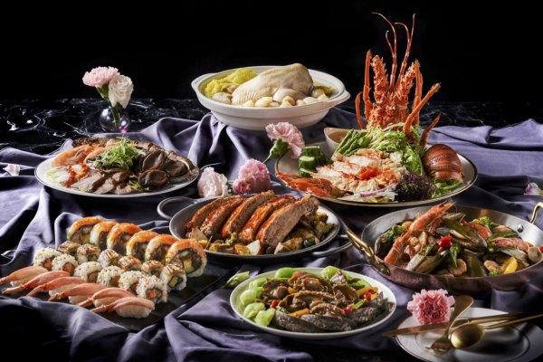 母親節,美食,台北,新北,桃園,高雄,台南,望月樓,饗食天堂,和逸飯店