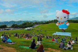 台東,熱氣球,HELLO KITTY