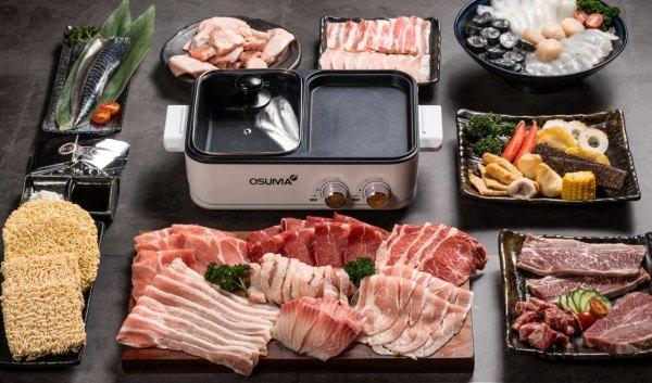 火烤兩吃,胡同燒肉,築間幸福鍋物,烤肉,火鍋
