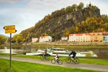 Czechy. Łabska trasa rowerowa inauguruje sezon