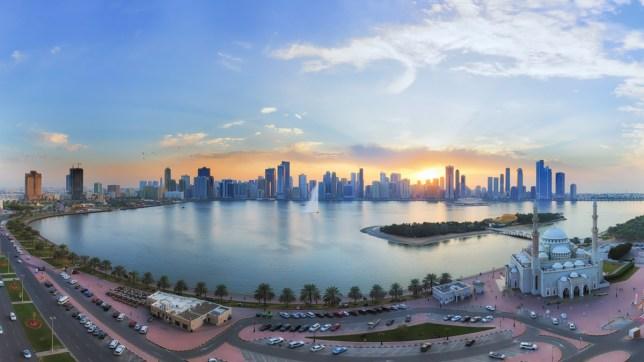 Sharjah kusi turystów