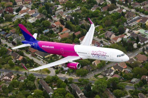 Wizz Air wprowadza 4 nowe trasy z Polski