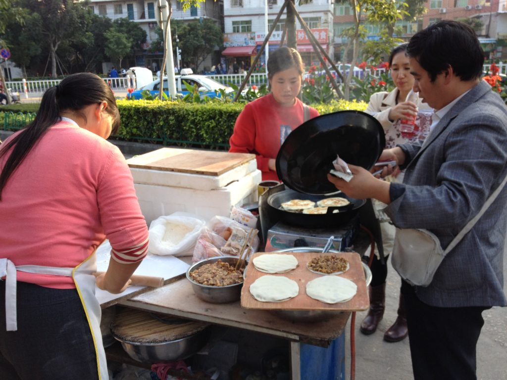 food in China guide for expat and travelers street food
