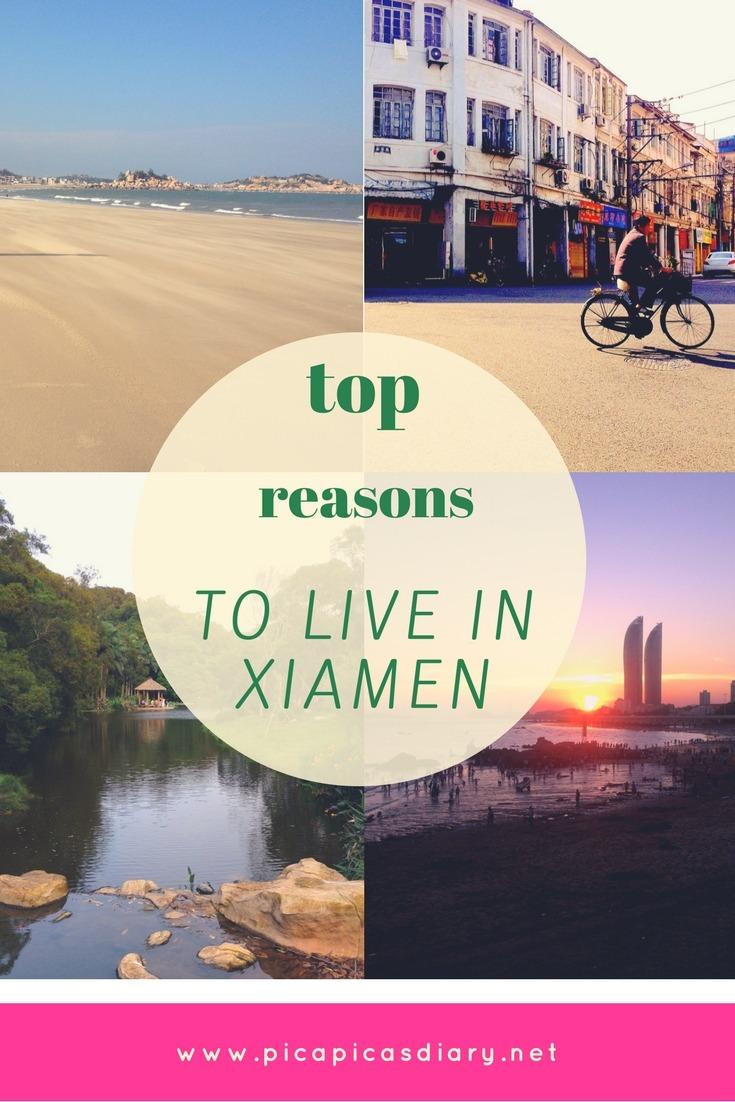 Good reasons live Xiamen, China