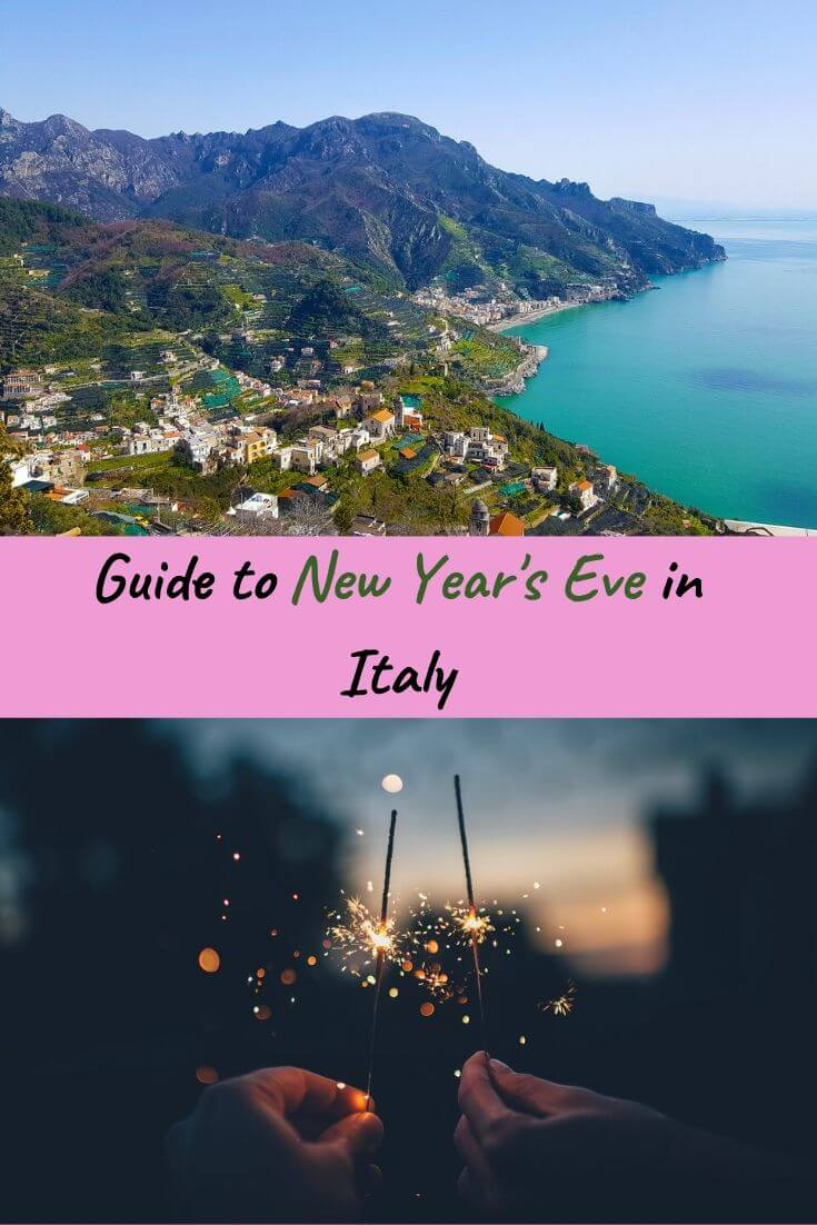 where to spend new year eve in italy