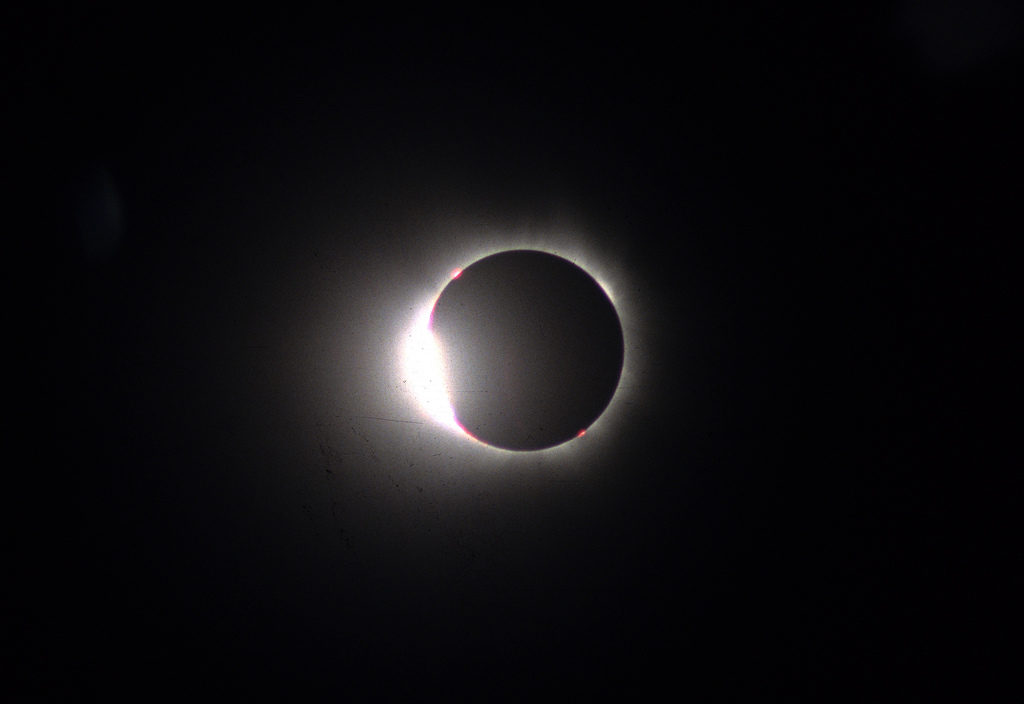 1999 Total Eclipse - Diamond Ring, by Rowan McLaughlin