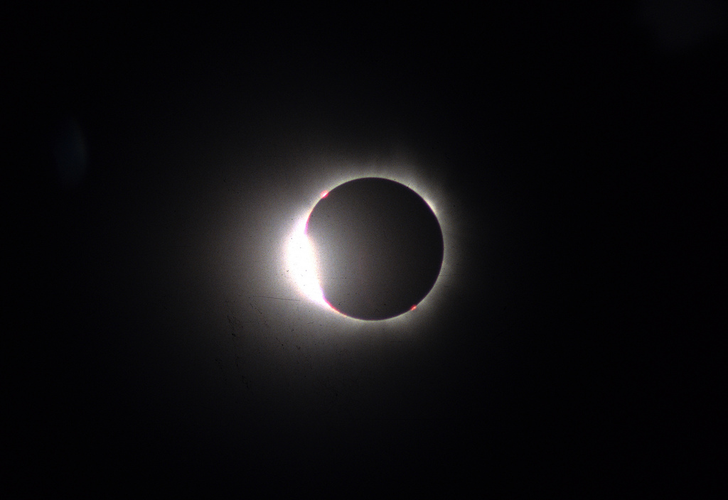 1999 Total Eclipse - Diamond Ring, by Rowan McLaughlin